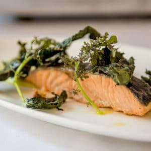 salmon and kale recipe